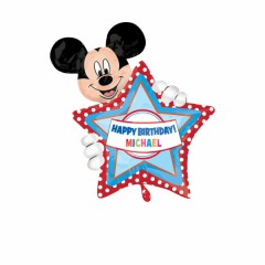 Mickey Mouse Birthday SuperShape
