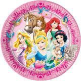 Talíře Disney Princess 23 cm, 8 ks