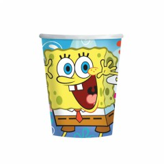 Kelímek Spongebob 250 ml,  8 ks