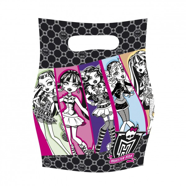 Taštičky Monster High 6 ks