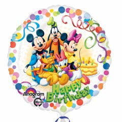 Fóliový balón Mickey party 1 ks 45cm