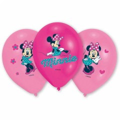 Balonky Minnie 6 ks