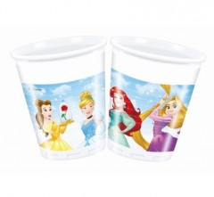 Kelímky Disney Princess 200 ml, 8 ks