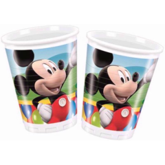Kelímky Mickey Mouse 8 ks 200 ml